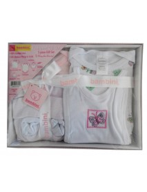 Bambini 5 Piece Gift Box - Pink