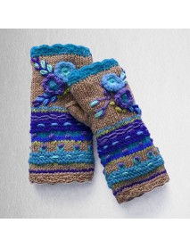 Casual Knit Gloves Handwarmers Women Glove