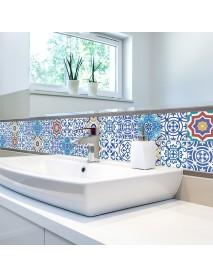 5M PVC Wall Sticker Bathroom Waterproof Self Adhesive Wallpaper Kitchen Mosaic Tile Stickers Decals