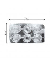 Diamonds Shaped Ice Cube Tray Ice Maker Silicone Ice Mold Chocolate Candy Jelly Mould Bar Tools