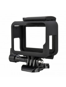 Protective Frame Border Housing Case Mount Soft Lens Cap For GoPro Hero 5 6 7 Black Action Camera