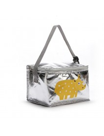 6L Cartoon Animal Lunch Bag Thermal PEVA Picnic Box Ice Package Cooler Bag  Insulated Storage