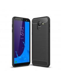 Bakeey Carbon Fiber Heat Dissipation Soft TPU Protective Case for Samsung Galaxy J6 2018 EU Version
