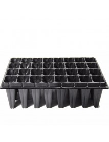 PVC Flower Pot Plant Block Tray Plastic Nursery Pot Plug Planting Planter Container Garden Supplies