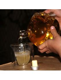 PUBG Playerunknown's Battlegrounds 3 Levels Helmet Wine Flagon High Quality Glass Wine Pot Wine Jug