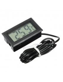10Pcs Mini LCD Digital Thermometer For Aquarium Fish Tank Refrigerator Temperature Measurement
