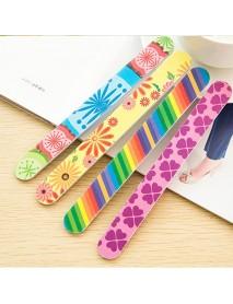50Pcs Colorful Sanding Nail Art Files Buffer Block Manicure Tools Cleaner Polish Gel Remove