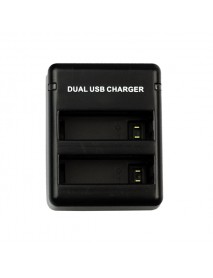 2Pcs 3.8V 1160MAH Battery USB Dual Charger For Gopro Hero 4 AHDBT-401