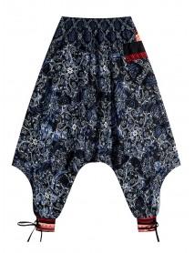 Bohemian Women Floral Print Baggy Harem Yoga Pants