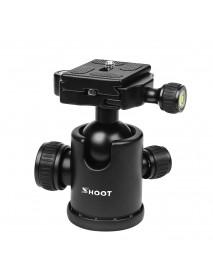 SHOOT XTGP444 Professional Mini 360 Degree Fluid Rotation Tripod Head Ball for DSLR Camera