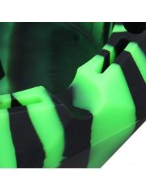 Silicone Car Ashtray Diamond Shape Design Smoking Tool Multifunctional Environmental