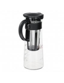 1000ML Cold Brew Iced Coffee Maker Airtight Seal Tea Pot Kettle With Filter And Handle