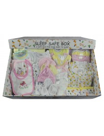 Girl 45 Piece Baby Starter Set Box