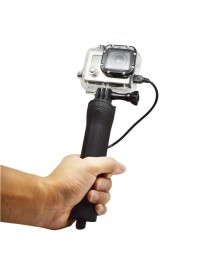 3300mAh Handheld Monopod Selfie Stick Power Bank for Gopro Hero 2 3 4 Xiaomi Yi SJ4000 SJ5000 SJcam