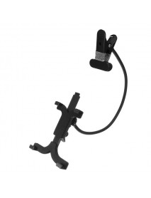 360 Auto Adjustable Clip On Holder Stand For Tablet Cell Phone