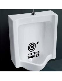 Honana BC-577 Toilet Wall Sticker Bathoom Decor Thinking 15 x 13cm Funny Toilet Entrance