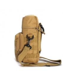 KCASA KC-BC05 Molle Water Bottle Carrier Travel Climb Outdooors Waist Belt Tactical Kettle Bag Holder