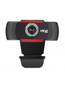 HXSJ S80 1080P USB Webcam 30fps Built-in Microphone Adjustable Degrees Computer Camera
