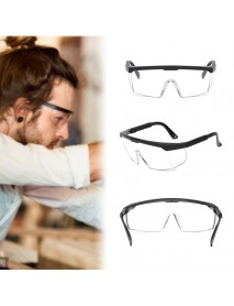 Safety Goggles Foldable Adjustable Anti-fog Anti-Sneeze Liquid Eye Protection Anti-Droplets Windproof Lab Glasses Clear Lens