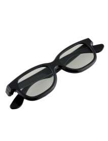 5pcs Black Round Polarized 3D Glasses for DVD LCD Video Game Theatre TV Theatre Movie