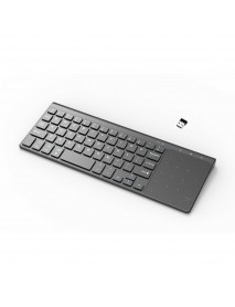 2.4G Ultrathin Mini Wireless Keyboard With Touch Pad for PC Android Smart TV Box Ps4