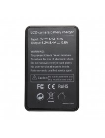 LCD Camera Battery Charger With USB Cable For Canon BP511 EOS 5D 10D 20D 30D 40D 5D 50D 300D