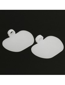 1 Pair Damping Silicone Gel Soft Forefoot Metatarsal Ball Pads Insoles High-heeled Shoes