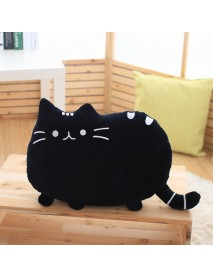 1Pc Creative Cartoon Cat Soft Back Pillow Cushions