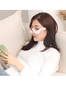Smart Rechargeable Eye Pulse Electric Massager 3 Gears Heating Vibrating Massage Device Eye Protector