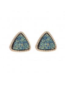 Bohemian Matte Gypsophila Ear Stub Retro Earring For Women Accessories