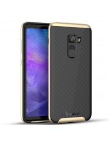 iPaky Slim Anti Fingerprint PC & TPU Protective Case For Samsung Galaxy A8 2018