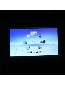 7 Inch HD LCD Digital Photo Frame Picture Album Clock Calendar MP3 MP4 Movie Player
