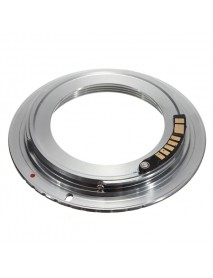 AF Confirm M42 Lens To Canon EOS EF Silver Adapter 60D 50D 40D 550D