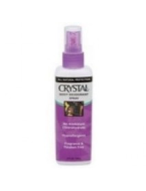 Crystal Deodorant Crystal Body Spray Deodorant (1x4 Oz)