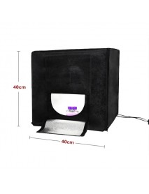 40x40x40CM Professional LED Softbox Lamp Photography Studio Suits Shooting Tent