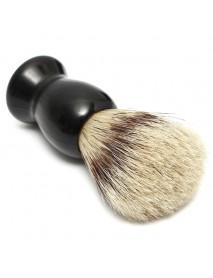 Badger Hair Brush+Stainless Steel Shaving Razor Stand+Plastic Bowl/Mug Set