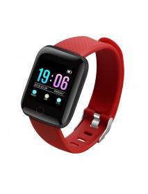 Bakeey 116 PLUS Smart Bracelet Heart Rate Blood Pressure Waterproof Smart Watch