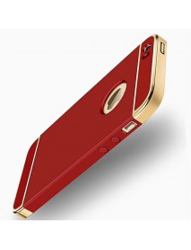 Bakeey 3 In 1 Plating Anti Fingerprint Hard PC Case iPhone 5 5S SE