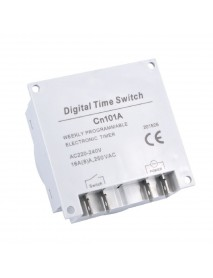 Loskii CN101A 12V 36V 110V 220V Programmable Digital LCD Power Timer Switch Relay 16A Timers