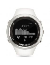 NORTH EDGE RANGE-W Digital Watch Rechargeable Battery Compass Swimming Fishing Men Sport Watch
