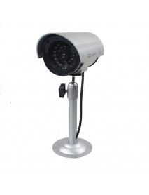 CA-11-02 Dummy Emulational Flash LED Fake CCTV Camera Bullet Waterproof Outdoor Security Camera