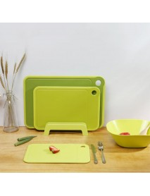 QUANGE CF020101 Fruit Vegetable Tools Non-Slip Hanging Double-sided Cutting Board Kitchen Household Fruit