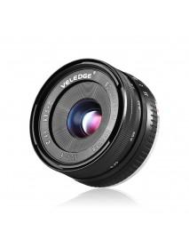 VELEDGE 32mm F1.6 Large Aperture Manual Prime Fixed Lens APS-C for Sony E-Mount Digital Mirrorless