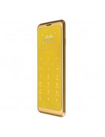 Anica T10 1.54 Inch 450mAh Intelligent Anti-lost Dual SIM bluetooth MP3 Ultra Thin Mini Card Phone