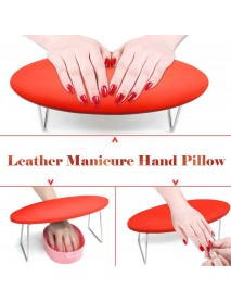 Detachable Nail Hand Pillow Pad Nail Arm Rest Microfiber Leather Waterproof Nail Art Accessories Nail Technician Use Hand Pillow