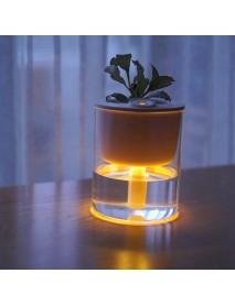 Feibi S1 320ml Air Humidifier 15 Degrees Nano Sprayer Aromatherapy Humidifier Eco Cup Night Light