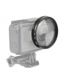 52mm 10x Magnifier Macro Close Up Lens for GoPro Hero 5 Hero 6 Magnification Action Camera Mount