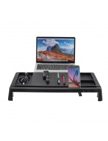 Monitor Laptop Stand Muti function Organizer With USB hub