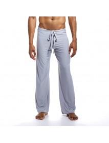JOCKMAIL Loose Smooth Cool Breathable Leisure Homewear Sleepwear Lounge Pants for Men