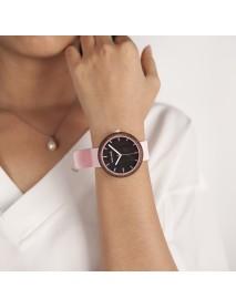 BOBO BIRD R28 Silicone Casual Style Women Wrist Watch Wooden Case Quartz Watches